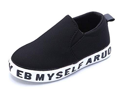 Scarpe da Ginnastica - Sneakers per Bambini - Colore Nero - Taglia 32 EU - Idea Regalo Natale e Compleanno