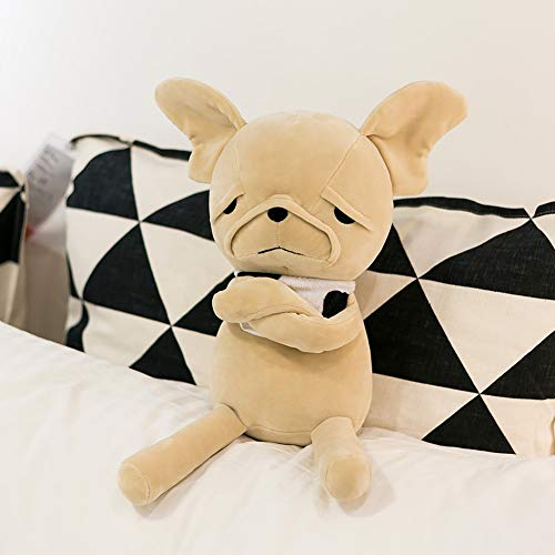 FRANKIEZHOU Stuffed Dog Animal Plush Toy Soft 10' French Bulldog Toy Best Gift for All-Original Design