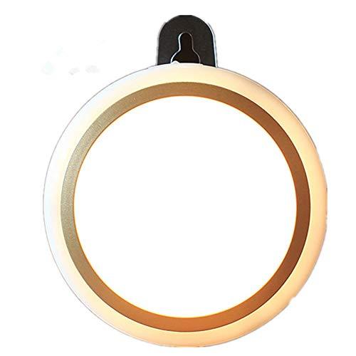Afstandsbediening, nachtlampje, oplaadbaar, slaapkamer, bed, oogbescherming, tafellamp, instelbare helderheid B goud