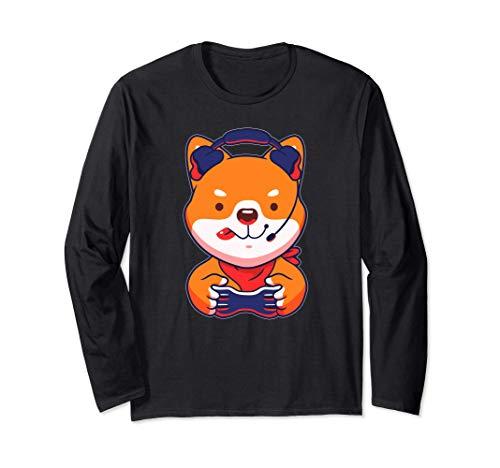 Photo de t-shirt-shiba-inu-gaming