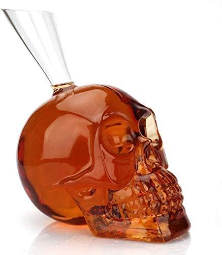 LNLJ - Decantador de botellas de vidrio para vino, 500 ml para regalo, hogar, bar, decoración de fiestas