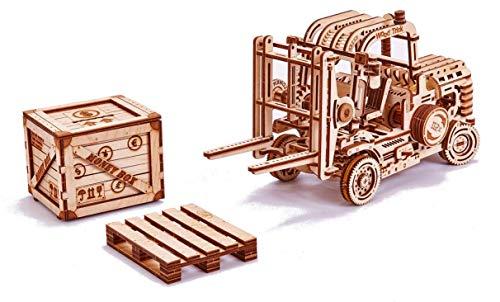 Wood Trick Holz Modell Kit - Gabelstapler