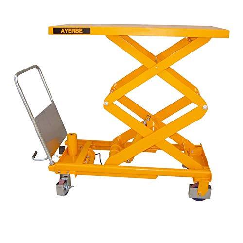 Ayerbe AY-750-MH Hydraulischer Tisch mit Kapazität bis 750 kg