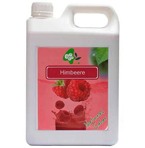 BoboQ Früchte Obst Sirup Für Bubble Tea Boba Bobas Himbeere 2,5kg 1900 ml