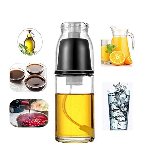LaceDaisy vaso pulverizador de aceite de oliva vinagre rociador barbacoa adobo botella de Spray, para barbacoa, cocinar y hacer aderezo de ensalada Herramientas de cocina