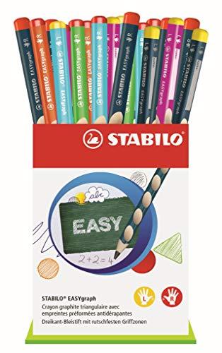 Stabilo Easygraph–Bicchiere di 36matite grafite ergonomici HB