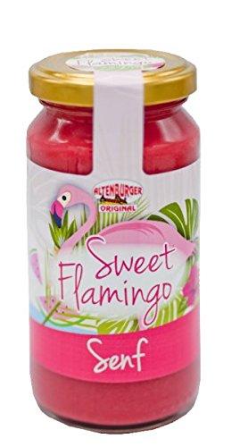 Sweet Flamingo Senf 200ml im Glas