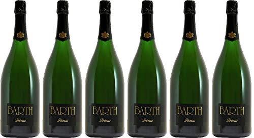 Barth Wein- und Sektgut Schützenhaus Riesling Sekt - - 2014 Brut nature (naturherb) Bio (6 x 0.75 l)
