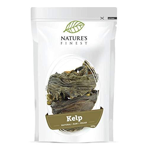 Nature's Finest Seetang-Pulver 250 g   Rohes Bio-Supernahrungsmittel   Hoher Iodgehalt   Vegan und Vegetarisch