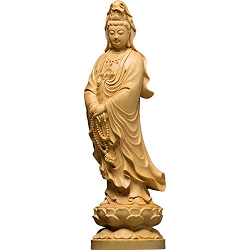 Stephen Statues & Sculptures - 12cm Chinese Home Decor Wall Sculpture Buddha Statue Car Wood Buddha God Office Accessories ation Desk - by 1 PCs