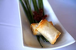 Order Wholesale Feta & Sun Dried Tomato in a Phyllo Log for Party - Gourmet Frozen Vegetarian Appetizers (Set of 4 Trays)