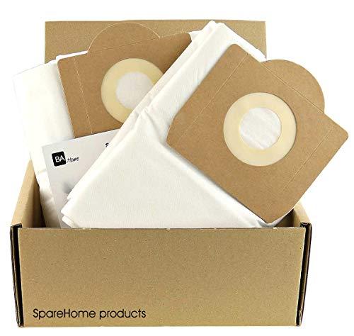 SpareHome® - 4 bolsas de Microfibra Plus alta resistencia