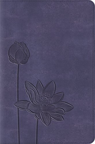 ESV Compact Bible (TruTone, Lavender Bloom) by ESV Bibles by Crossway