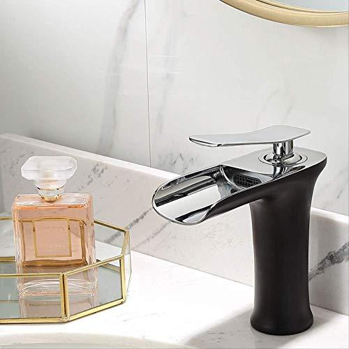 Alle Kupfer Küche heiß und kalt 8843 gebürstet,Bad Armatur Wasserhahn Waschtischarmatur aus, Waschbecken Armatur mit Wasserfall Waschtisch Waschbecken, Einhebelmischer fürs Bad