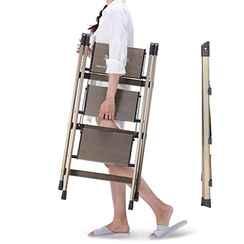 Xiaofeng Ladder Aluminum Household Folding Aluminum Ladder Lightweight Four-Step Herringbone Ladder Multifunctional Engineering Ladder