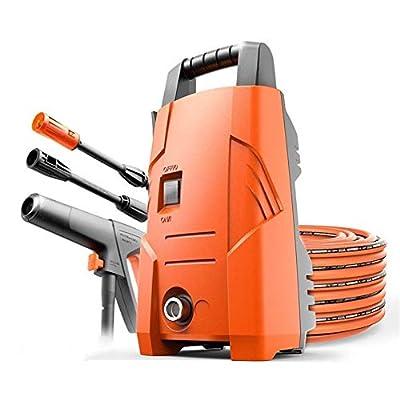 ZXL Home High Pressure Washer, Powerful 1200W Jet Wash,Washer Washing Machine for Car and Home Garden Patio Cleaner,Orange/Black by Zxl