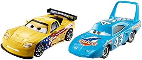 Disney Cars 3 The King and Jeff Corvette
