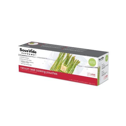 SousVide Supreme - 25 Sacchetti ad uso alimentare, misura Large