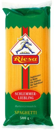 Riesa Riesa Nudeln Spaghetti, 10er Pack (10 x 500 g Beutel)