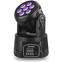 Zkymzl LED RGB Moving Head Mini Stage Light