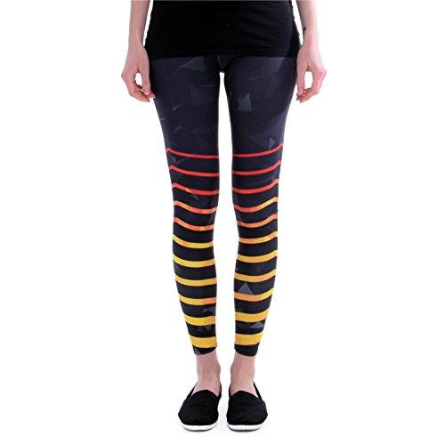 cosey Sports Line - Yoga und Fitness-Leggings - Workout Dreieck