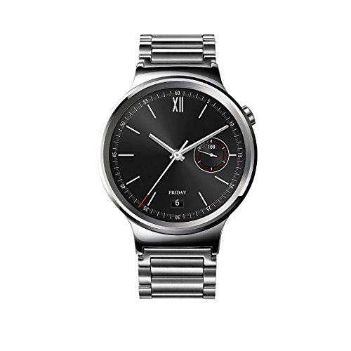 Huawei Watch Stainless Steel with Stainless Steel Link Band (U.S....