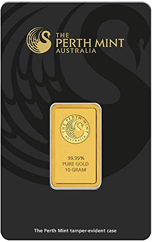 Perth Mint 10g Gramm Goldbarren 999.9 Känguru Kangaroo Blister