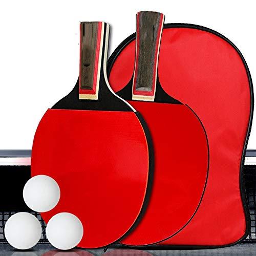 Great Price! Hewen-Ping Pong Set Child Adult Beginner Level Pingpong Paddle Table Tennis Racket Ping...