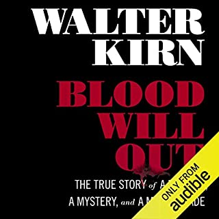Blood Will Out audiobook cover art