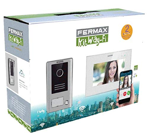 Fermax Way-FI Video-Türsprechanlage mit 7 Zoll WiFi-Monitor