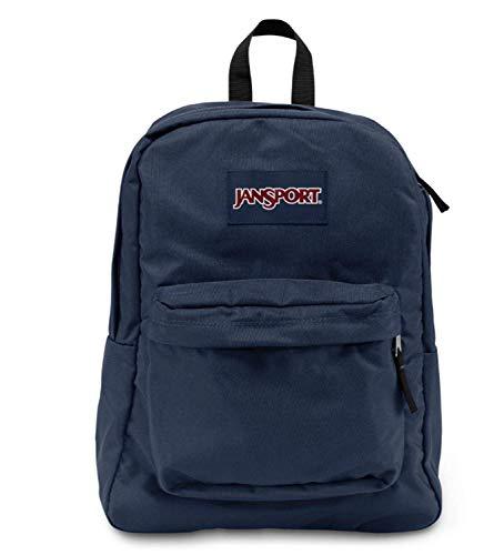 JANSPORT 00-1G8ZNMWF-YC Superbreak Backpack (Navy)