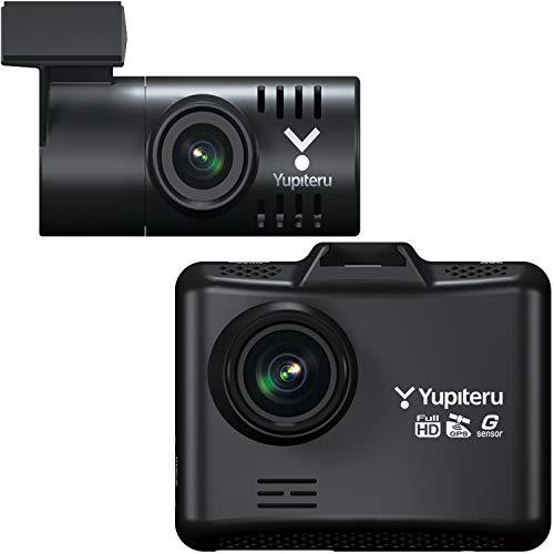 ユピテル 前後2カメラ ドライブレコーダー  DRY-TW7500dP フロント200万画素 リア100万画素 ノイズ対策済 LED信号対応 専用microSD(16GB)付 1年保証 Gセンサー GPS 駐車監視 安全運転支援機能付