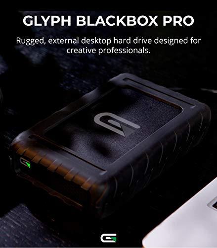 Glyph BlackBox Pro External Hard Drive 7200 RPM, USB-C (3.1,Gen2) (8TB)
