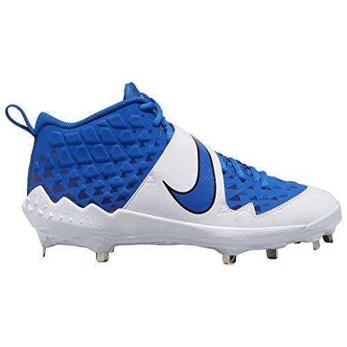 Nike メンズ フォーストラウト6 プロメタル野球スパイクシューズ US サイズ: 12.5 カラー: ブルー