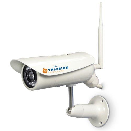 Outdoor IP telecamera di sorveglianza TriVision 3.75 wattsW, 240 voltsV
