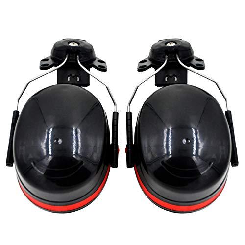 Camisin Orejeras insonorizadas, ruido, accesorio de casco duro, NRR 27 DB, para construcción, fabricación, mantenimiento