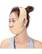 Face Slimming Mask, Natural V Face Cheek Chin Raising Tight Band, Anti-Wrinkle and Tightens Skin Face Mask, Face Shaper Slimming Anti-Double Chin Face Bandage (1#)