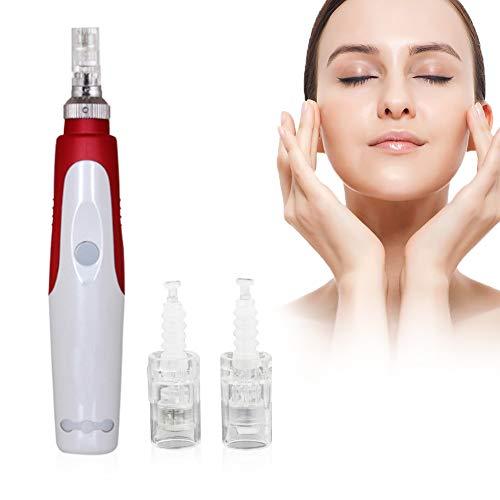 Electric Microneedle, Microneedling Pen, microneedling gerät, Fixieren Sie die Verstopfung der Poren, entfernen Sie Akne Tupfen, Absorbieren Sie die Hautessenz perfekt. Enthält 12 Nadel und 36 Nadel