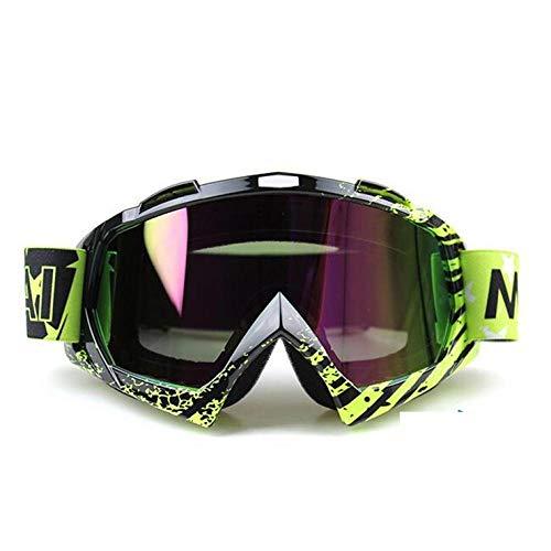 Generieke skibril, anti-fog skibril, voor mannen en vrouwen, merk snowboard, motorcross, bril, sneeuw, skibril, anti-condens, sport skimasker