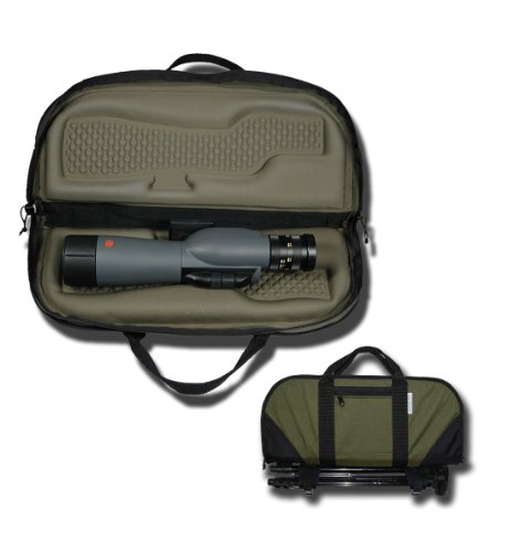 Sportsman's Outdoor Products Snugfit Spotting Scope Case Fits Up to 80-mm (Black)