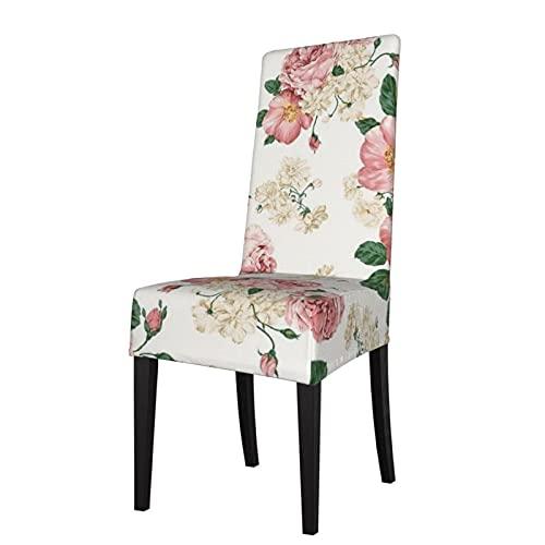Fondo de pantalla de escritorio floral en papel pintado desmontable silla de comedor cubierta cubierta es adecuado para banquete de ceremonia de hotel