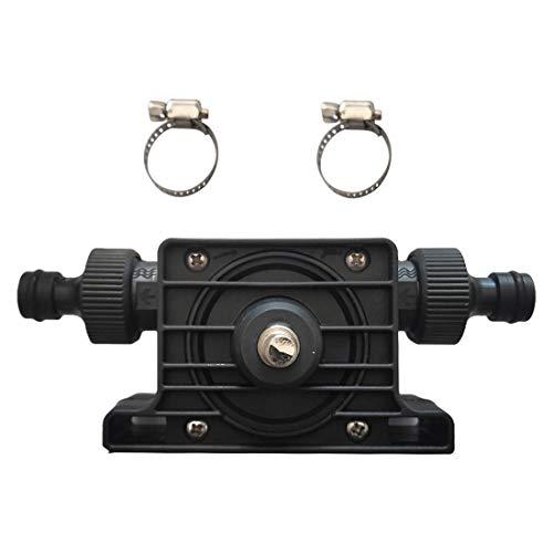 Tragbare Selbstansaugende Handbohrmaschine Pumpe Miniatur selbstansaugende Pumpe Haushalt kleine Wasserpumpe Handbohrmaschine Antriebspumpe Dieselpumpe