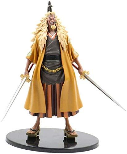 SHUMEISHOUT The New One Piece DX Great Route Man 2 León Dorado Shiji Montado en Caja Muñeca Anime Figura Decoración Estatua Muñeca Modelo Colección Juguete Altura 19cm