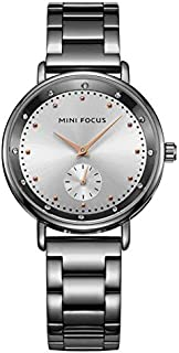 Mini Focus Womens Quartz Watch, Analog Display and Stainless Steel Strap - MF0037L.04