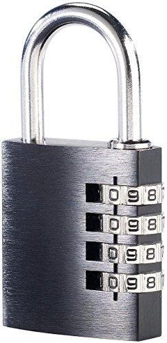 Pearl Cadenas à Code 4 Chiffres - en Aluminium - 38 mm
