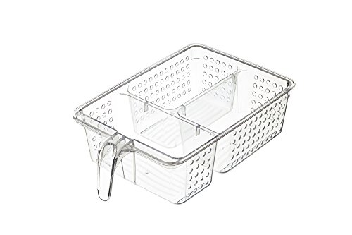 KitchenCraft Plastic Koelkast/Kast Organiser Opbergdoos, 20,5 x 31 x 9 cm (8