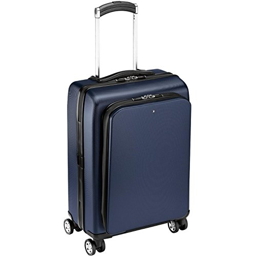 Montblanc Trolley Rigido Bagaglio A Mano 4 Ruote Nightflight
