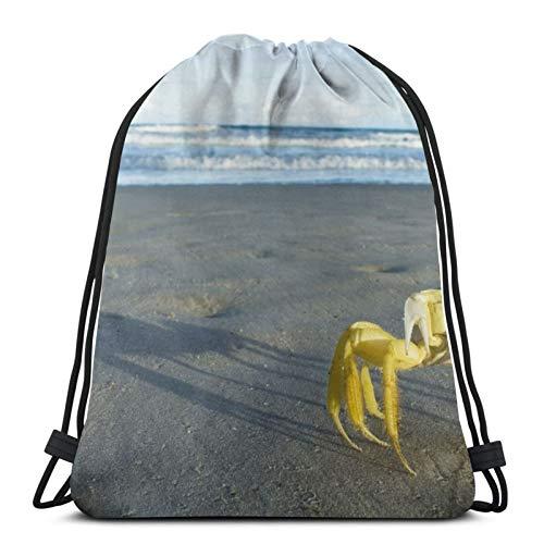 Affordable shop Coast Surf Arena Cangrejo Mochila con cordón, ligera, gimnasio, viajes, yoga, bolsa de hombro para senderismo, natación, playa