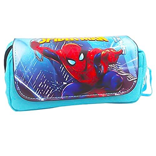 Astuccio Avengers, BESTZY Bustina Avengers, Spiderman Astuccio per Matite Piccolo Astucci Studenti Cartoleria Sacchetti Portapenne Portapenne grande capacità per studenti