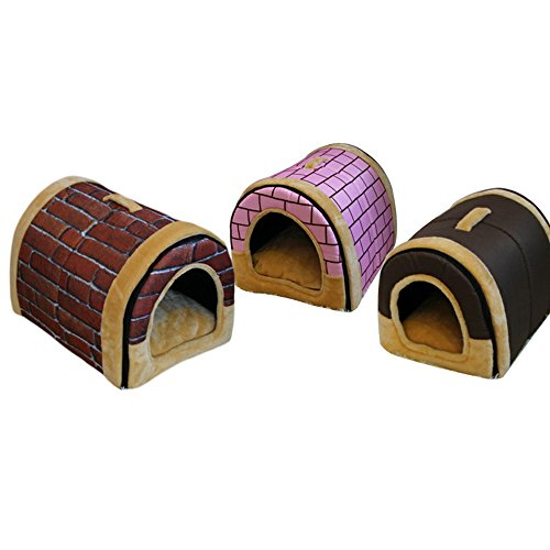 Arc kennel kat nest hond huis dual verwijderbare en wasbare matras fabriek directe groothandel draagbare hond kooi L, 8, BRON